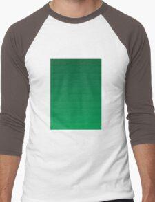 Layers (Green) Men's Baseball ¾ T-Shirt