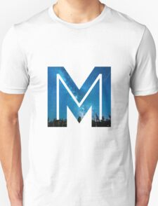 The Letter M - Starry Night T-Shirt