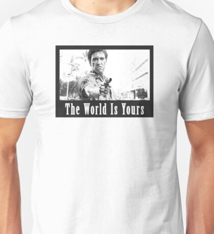 Scarface The World Is Yours Unisex T-Shirt