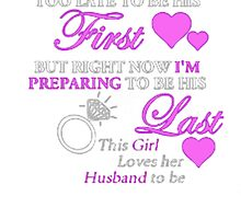 I LOVE MY HUSBAND TO BE by Jaimehayon Smith