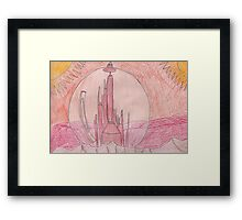 Citadel on Gallifrey Framed Print
