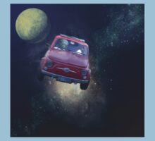 Bella in Space - by Anne Winkler Baby Tee