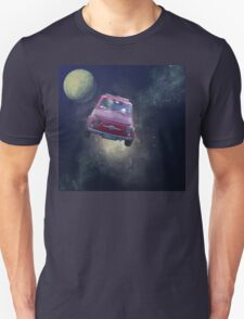 Bella in Space - by Anne Winkler Unisex T-Shirt