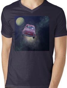 Bella in Space - by Anne Winkler Mens V-Neck T-Shirt