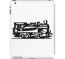 dampflok lok railroad small iPad Case/Skin
