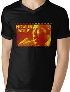 HOWLIN WOLF Mens V-Neck T-Shirt