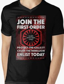 First Order Recruitment Poster Mens V-Neck T-Shirt