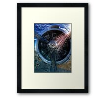 """World War II Fighter"" iPhoneography Framed Print"