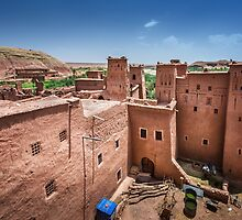 Windows Of Ait BenHaddou by zouhair lhaloui