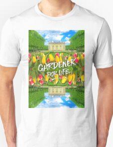 Petit Trianon Tulips Versailles Palace Gardens Paris France T-Shirt