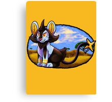 Pokemon Luxio Canvas Print