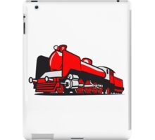 dampflok railroad tender iPad Case/Skin