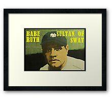 Babe Ruth - New York Yankees Framed Print