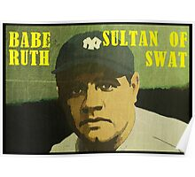 Babe Ruth - New York Yankees Poster