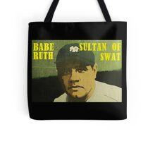 Babe Ruth - New York Yankees Tote Bag