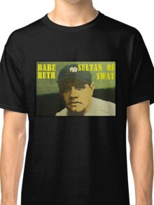 Babe Ruth - New York Yankees Classic T-Shirt