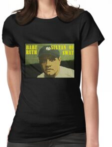 Babe Ruth - New York Yankees Womens Fitted T-Shirt