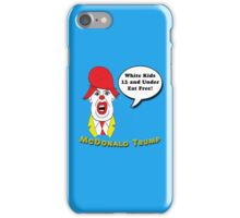 McDonald Trump Version One iPhone Case/Skin