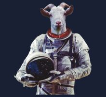 Goat Astronaut In Space Kids Clothes