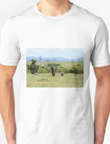Elephants on the Masai Mara T-Shirt