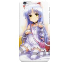 Angel Beats Meow Kitty iPhone Case/Skin