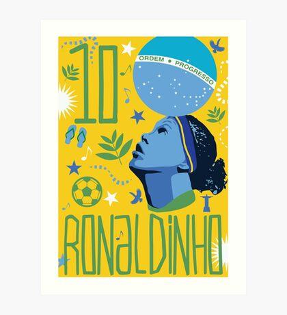 Ronaldinho Art Print
