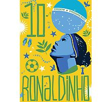 Ronaldinho Photographic Print