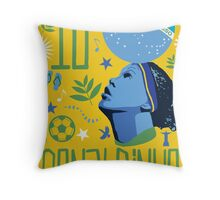 Ronaldinho Throw Pillow