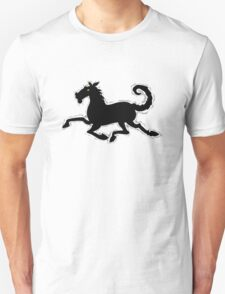 Galloping Horse Tshirt design Unisex T-Shirt