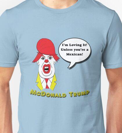 McDonald Trump Version Two Unisex T-Shirt