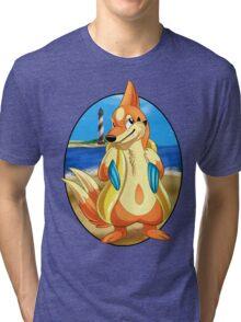 Pokemon Floatzel Tri-blend T-Shirt