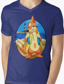 Pokemon Floatzel Mens V-Neck T-Shirt