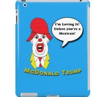 McDonald Trump Version Two iPad Case/Skin