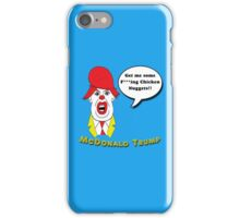 McDonald Trump Version Three iPhone Case/Skin