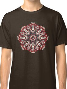 Round floral ornament Classic T-Shirt
