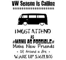 VW Season Photographic Print