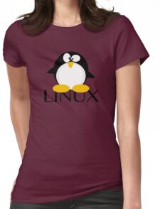 Linux Penguin Womens Fitted T-Shirt