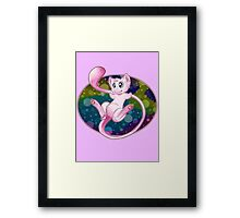Pokemon Mew Framed Print