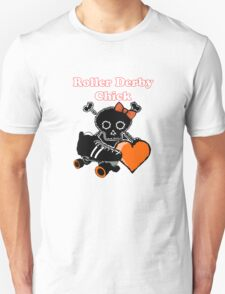 Roller Derby Chick (Orange) T-Shirt