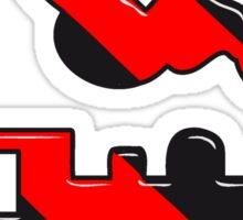 dampflok railroad toy Sticker