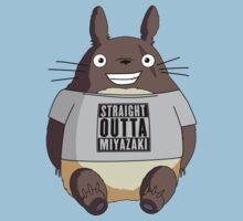 Totoro - Miyazaki One Piece - Short Sleeve