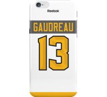 Calgary Flames Johnny Gaudreau NHL All-Star White Jersey Back Phone Case iPhone Case/Skin