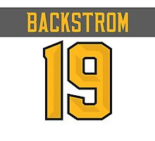 Washington Capitals Nicklas Backstrom NHL All-Star White Jersey Back Phone Case by Russ Jericho