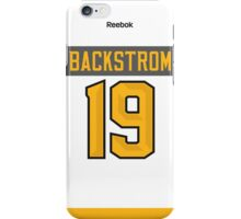 Washington Capitals Nicklas Backstrom NHL All-Star White Jersey Back Phone Case iPhone Case/Skin