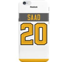 Columbus Blue Jackets Brandon Saad NHL All-Star White Jersey Back Phone Case iPhone Case/Skin