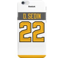 Vancouver Canucks Daniel Sedin NHL All-Star White Jersey Back Phone Case iPhone Case/Skin