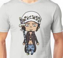 Trafalgar D. Water Law - One Piece Chibi Unisex T-Shirt