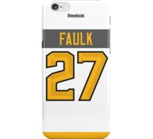 Carolina Hurricanes Justin Faulk NHL All-Star White Jersey Back Phone Case iPhone Case/Skin