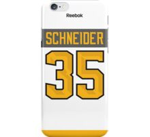 New Jersey Devils Cory Schneider NHL All-Star White Jersey Back Phone Case iPhone Case/Skin