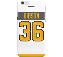 Anaheim Ducks John Gibson NHL All-Star White Jersey Back Phone Case iPhone Case/Skin